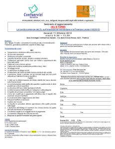 Seminario aggiornamento IMU E TARES 11ottobre2013_Confservizi Veneto_plus services_programma e scheda iscrizione