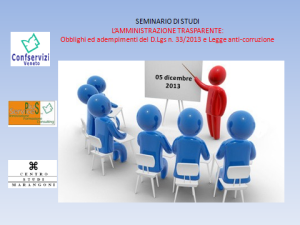 aggiornamento-amministrazione trasparente-legge anti corruzione-confservizi_veneto-plus_services-centro_studi_marangoni-dicembre2013